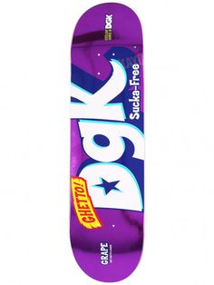 DGK Mix Up Purple Foil Deck 8.25 x 31.875