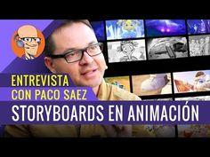Entrevista a Paco Saéz (Storyboard) |Parte 1 | ESCARDO | Club de Animación 3D