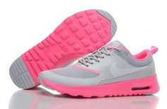 online retailer 0f712 c1160 Pink and grey Nike trainers. Air Max ...