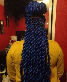 Mega Twist, Pretty Color - http://community.blackhairinformation.com/hairstyle-gallery/braids-twists/mega-twist-pretty-color/