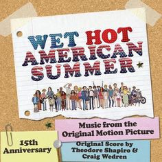 Wet Hot American Summer - Music From The Original Motion Picture LP