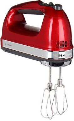 KitchenAid 9 Speed Hand Mixer Candy Apple Home KitchenAid