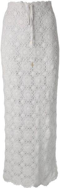 Юбка крючком из мотивов #Crochet_Maxi_Skirt  #Melissa_Odabash