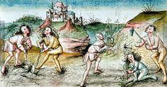Monat Juni   Dieses Bild: 006784     Süddeutsch   1475 ; 1475 ; Wien ; Österreich ; Wien ; Österreichische Nationalbibliothek ; cod. 3085 ; fol. 5r
