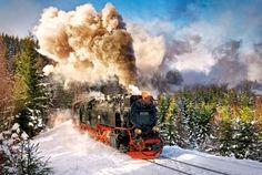 Puzzle Castorland de 1000 piezas - Maquina de tren a vapor ( Ref:  0000103409 )