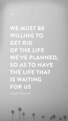 letting go of the life we've planned  #iphone #wallpaper #quotes