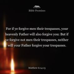 Matthew 6:14-15 that does NOT mean IGNORE the other person and CUT them out of your life because YOU are OFFENDED that they know the REAL YOU and won't pretend you are something different to make your feel better about yourself! it means forgive real wrongs, not your fabricated ones. your version of forgiveness is no real forgiveness at all.