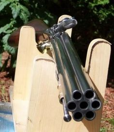 7 barreled flintlock volley gun