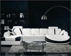 Modern White with accents holy smokes!