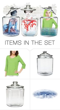 """Jars"" by pepitarita ❤ liked on Polyvore featuring art"