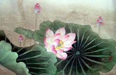 Lotus,50cm x 33cm(19〃 x 13〃),2320003-z