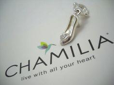 #DISNEY #CHAMILIA #Cinderella #GlassSlipper #CinderellasSlipper #CinderellaSlipper #Charm (DIS-502) #ChamiliaCharm #CharmBracelet #Jewelry #Jewellery