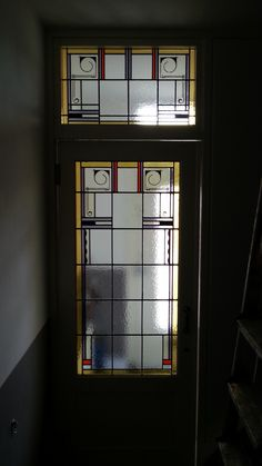 Stainedglass glas in lood Haarlem