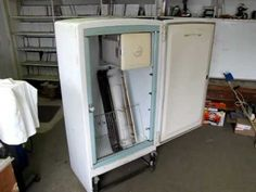 DIY Convert an old refrigerator into a meat smoker or smoke cooker