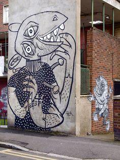 Mural by Nazir Tanbouli. (Photo: Claude Crommelin, Flickr)