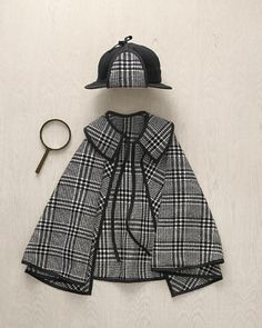 is totally into being a detective now. {Sherlock Holmes costume tutorial from Martha Stewart} And I think this will be Ethan's costume this year. Sherlock Poster, Funny Sherlock, Sherlock Season, Sherlock Quotes, Halloween Kostüm, Halloween Costumes, Diy Costumes, Detective Costume, Kids Fashion
