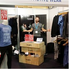 WPN Wear shop at Melbourne Fitness and Health Expo @wpnwear #filex #WPNLiveIt #WPNWear
