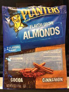 Planters flavor grove almonds 2 flavors one bag! Cocoa & cinnamon