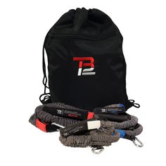 TB12™ Shoulder Performance Kit contains the same resistance bands that Tom Brady uses at the TB12 Performance Center.  The kit includes pairs of bands in 4 resistance levels and a portable anchor spine that attaches to a standard door to enable workouts anywhere. These bands have ergonomic handles and are made with surgical-grade dipped latex tubing sheathed in ballistic nylon for maximum safety. Unlike weights, bands provide progressive resistance throughout the entire range of motion while…