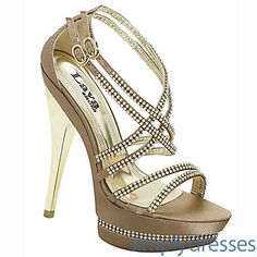 Andrea Taupe High Heel