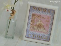 Design by Suzi: Norika a Tomáš Wedding Pictures, Scrapbooking, Frame, Cards, Design, Home Decor, Picture Frame, Decoration Home, Room Decor