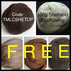 BOGOF Shetland TOP/ROVING White 200g Premium top roving fibre. Ideal for Spinning, over-dyeing and felting. Both shorn & milled locally. by MagpieLaneCrafts on Etsy