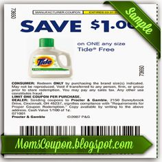 Tide 10 off printable coupon code February 2015