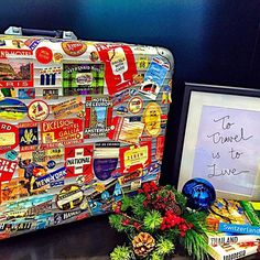 To #travel is to live. Travel-hungry globetrotter @katherinaolivia lived a lot according to her great collection of stickers on her RIMOWA case. #rimowa_official #wanderlust #onlywaytotravel #regram