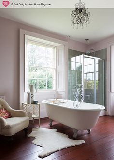 dream bathroom! Paul Craig  for Heart Home magazine