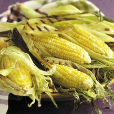 """Easy #Grilled #Corn-on-the #Cob - """"This is the best grilled corn I have ever tasted! The butter, garlic and cheese perk up the flavor and make it hard to resist. A great side dish for your cookout!"""" —Mitzi Sentiff,"""