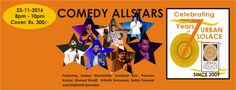 COMEDY ALLSTARS @ URBAN SOALCE - http://explo.in/2fTg2sD #Bangalore