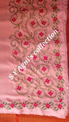 Embroidery Suits Punjabi, Hand Embroidery Dress, Embroidery Suits Design, Embroidery Works, Embroidery Saree, Hand Embroidery Stitches, Hand Embroidery Designs, Designer Punjabi Suits Patiala, Punjabi Suits Designer Boutique