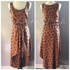 Dresses - Doves High Low Dress