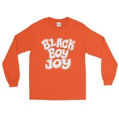 Black Boy Joy Long Sleeve T-Shirt