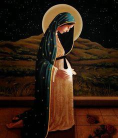 A la Virgen de la Dulce Espera se le atribuyen muchos milagros. Se recomienda que las parejas que quieren concebir un hijo le recen a es...