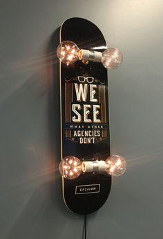 Need custom messaging on your skateboard light? No problem!