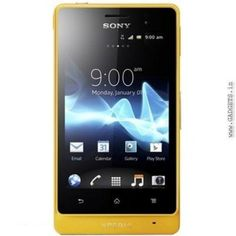 Sony Xperia Go (Yellow)