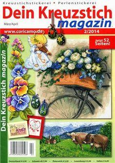 Журналы по вязанию и рукоделию: Dein Kreuzstich magazin №2 2014