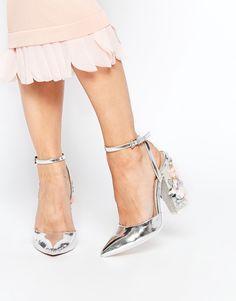 Immagine 1 di ASOS - PERFORMER - Scarpe a punta con tacco alto