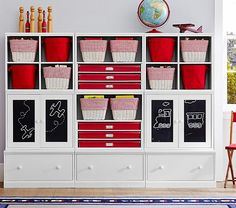 Charmant Cameron Creativity Art Storage System With Drawer Bases | Pottery Barn Kids