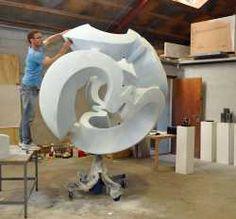 Sculptor Jens Ingvard Hansen