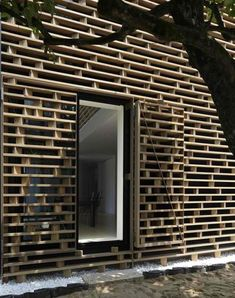 wood, facade
