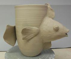 From the blog from ellen silberlicht, an artist and a high school art/pottery teacher.