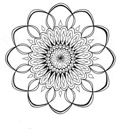 These free mandala designs to print can help center your mind while nurturing your soul. Print these free printable mandala coloring pages as many times as you need and color them any way you want. Free Adult Coloring Pages, Mandala Coloring Pages, Coloring Pages To Print, Printable Coloring Pages, Colouring Pages, Coloring Sheets, Coloring Books, Food Coloring, Mandala Design