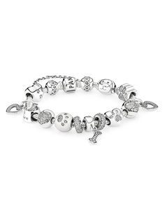 Create an adorable tribute to your beloved pets with the new charms from PANDORA.  #PANDORAbracelet
