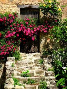 I want it to look 100 years old, secret garden like