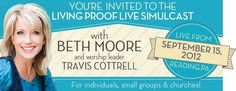 Beth Moore simulcasts and teaching materials are worth every penny and minute.