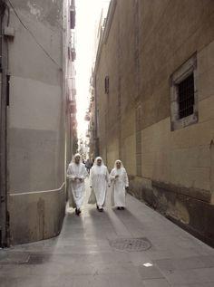 nuns. barcelona. #spain