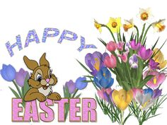 Happy easter day 2019 animated gif is actually the animation of easter which are the easter icons to wish your love ones in a unique way Happy Easter Gif, Happy Easter Quotes, Happy Easter Sunday, 50th Birthday Decorations, Spring Pictures, Cute Fairy, Glitter Graphics, Holiday Wishes, Easter Bunny
