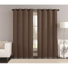 Langley Street Meredith Blackout Curtain Panels Color: